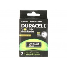 Pile rechargeable Duracell Solar Rechargeable Batteries BL14430-400