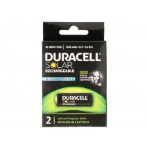 Pile rechargeable Duracell Solar Rechargeable Batteries BL18500-1000