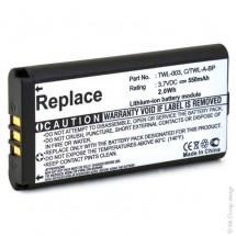 Batterie console de jeux 3.7V 550mAh